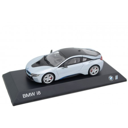 Paragon BMW i8 Coupé l12 2015 - Ionic Silver Metallic
