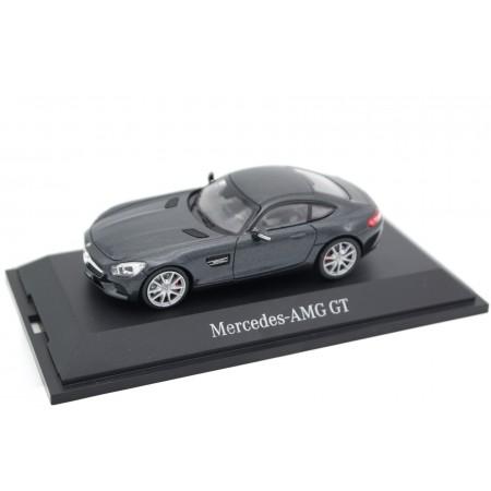 Norev Mercedes-Benz AMG GT S C190 2015 - Magnetite Black Metallic