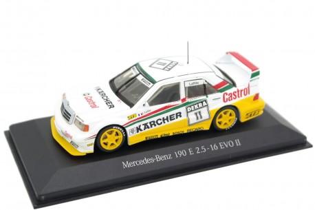 "Minichamps Mercedes-Benz 190E 2.5-16 EVO II W201 #11 ""Mass-Schons Racing"" DTM Wunstorf 1992 - Jacques Laffite"