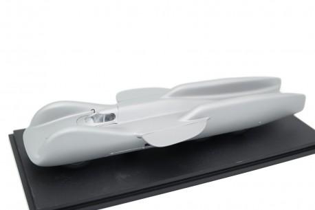 Neo Scale Models Mercedes-Benz T80 Rekordwagen by Ferdinand Porsche 1939 - Silver Aluminum