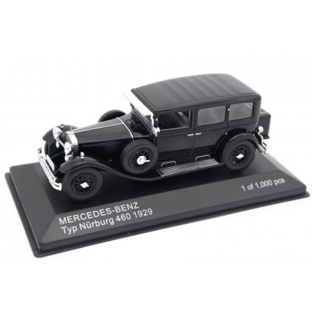 Whitebox Mercedes-Benz Typ Nürburg 460 W08 1929 - Black