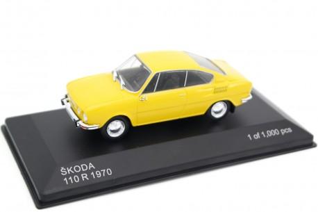 Whitebox Škoda 110R Coupé 1970 - Lemon Yellow
