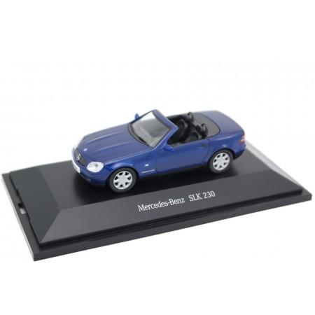 Herpa Mercedes-Benz SLK-Class 230 Kompressor R170 1996 - Linarite Blue Metallic