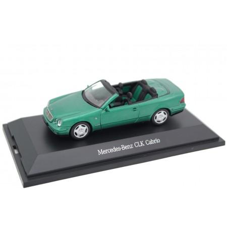 Schuco Mercedes-Benz CLK-Class Cabriolet 320 Elegance A208 1998 - Designo Edison Green