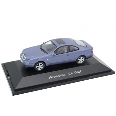 Herpa Mercedes-Benz CLK-Class Coupé 230 Kompressor Sport C208 1997 - Quartz Blue Metallic