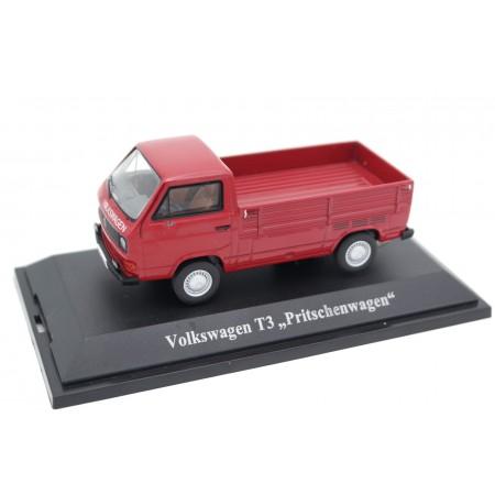 Premium ClassiXXs Volkswagen Transporter T3 Pritschenwagen Typ 245 1979 - Orient Red