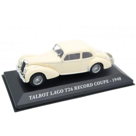Altaya Talbot Lago T26 Record Coupé 1948 - Foam White