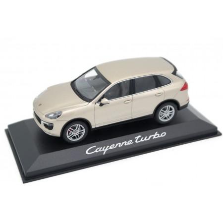 Minichamps Porsche Cayenne Turbo 4.8 V8 958 Facelift 92A 2014 - Palladium Gold Metallic