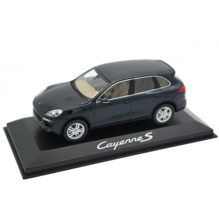 Minichamps Porsche Cayenne S 3.6 V6 958 Facelift 92A 2014 - Moonlight Blue Metallic
