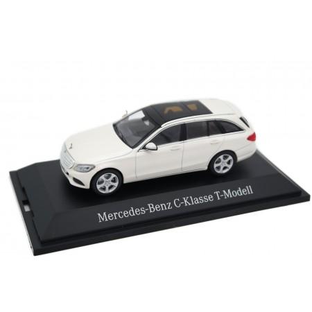 Norev Mercedes-Benz C-Class T-Modell Exclusive S205 2015 - Designo Diamond White Metallic Bright