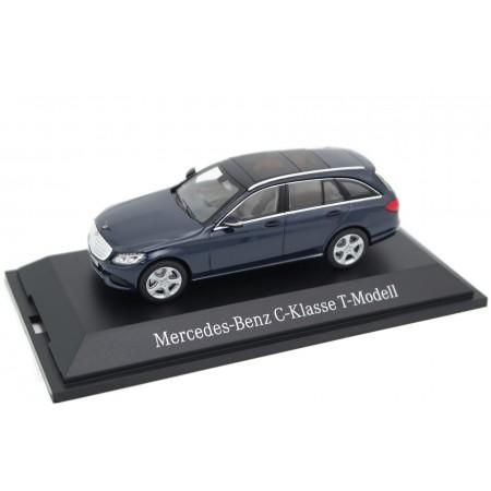 Norev Mercedes-Benz C-Class T-Modell Exclusive S205 2015 - Cavansit Blue Metallic