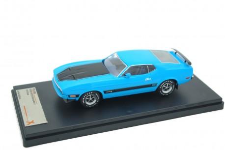 Premium X Ford Mustang Mach 1 1973 - Light Grabber Blue