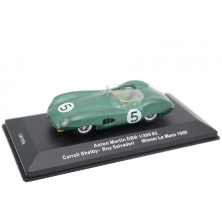 "IXO Aston Martin DBR1/300 #5 ""David Brown Racing Dept"" Winner 24 Hours of Le Mans 1959 - R.Salvadori/C.Shelby"