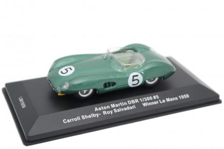 "IXO Aston Martin DBR1/300 #5 ""David Brown Racing Dept"" Winner 24 Hours of Le Mans 1959 - R.Salvadori/C.Shelby"