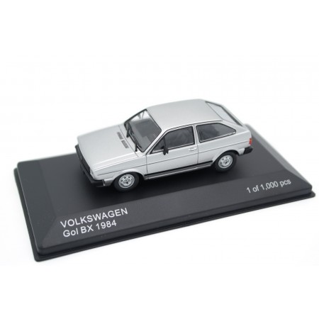 Whitebox Volkswagen Gol BX 1984 - Diamond Silver Metallic