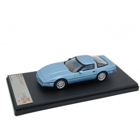 Premium X Chevrolet Corvette C4 1984 - Light Blue Metallic