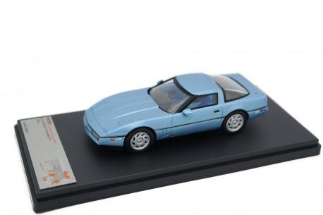 Premium X Chevrolet Corvette C4 1984 - Light Blue Metallic