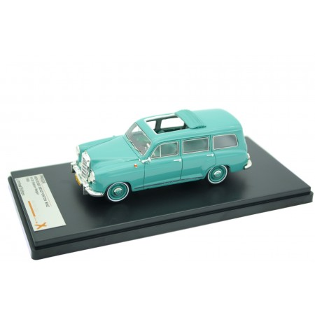 Premium X Mercedes-Benz Ponton 180D Station Wagon by Binz W120 1954 - Light Green