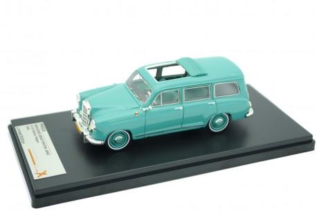 Premium X Mercedes-Benz Ponton 180D Station Wagon by Binz W120 1954 - Light Green
