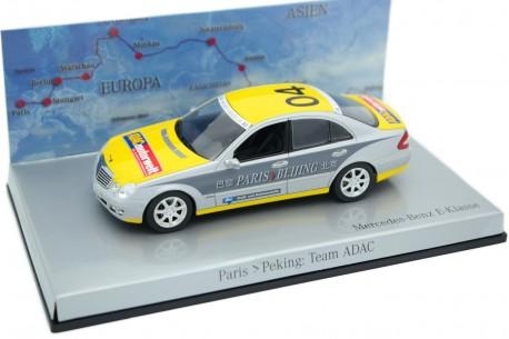 "Minichamps Mercedes-Benz E-Class E320 CDI W211 MOPF Rally Paris-Beijing #04 ""Team ADAC"" 2006 - Brilliant Silver Metallic"
