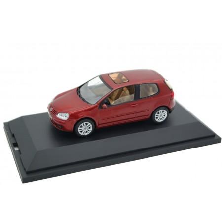 Schuco Volkswagen Golf V 3-door 2003 - Sunset Red Metallic