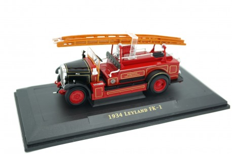 Yat Ming Leyland Cub FK1 Worcester City and County Fire Brigade 1932 - Red
