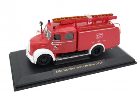 Yat Ming Magirus-Deutz Mercur TLF16 Stadt Selbitz 1961 - Red