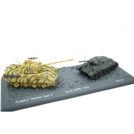 Pz.Kpfw. V Panther Ausf. D vs T34/76