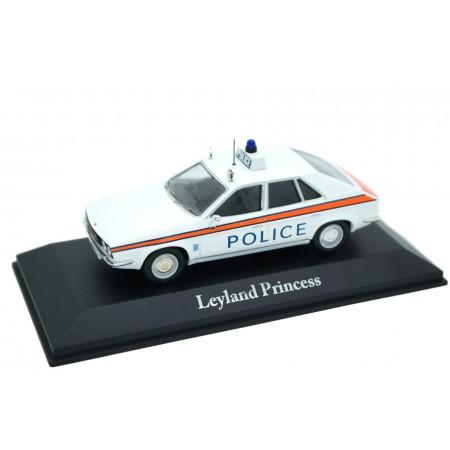 Atlas Corgi Leyland Princess 1800 HL Staffordshire Police 1975 - Old English White