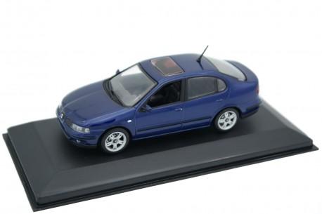 Minichamps Seat Toledo II 2.3 V5 1M 1999 - Blue Brio Metallic