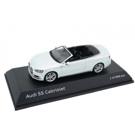 Paragon Audi S5 Cabriolet F5 2016 - Tofana White Metallic