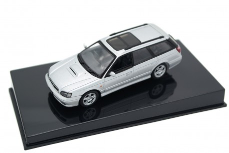 AUTOart Subaru Legacy Touring Wagon GT-B 2.0 BH5 1999 - Quick Silver Metallic