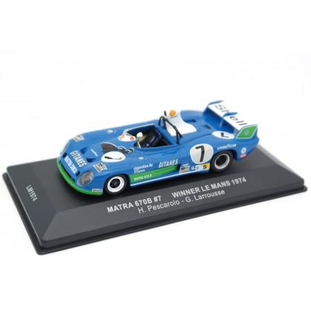"IXO Matra Simca MS670B #7 ""Équipe Gitanes"" Winner 24 Hours of Le Mans 1974 - H.Pescarolo/G.Larrousse"