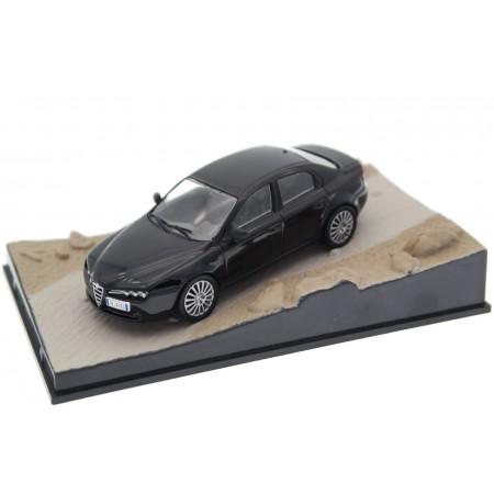 "Altaya Alfa Romeo 159 3.2 V6 Ti ""Quantum of Solace (2008)"" 2008 - Nero 1000 Miglia"