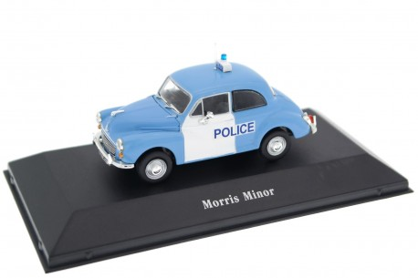Atlas Morris Minor 1000 Police 1967 - Persian Blue/Glacier White