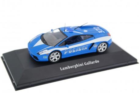 Atlas Lamborghini Gallardo LP560-4 Polizia Stradale 2004 - Intense Blue