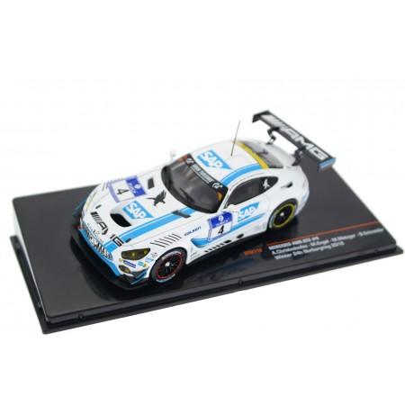 "IXO Mercedes-AMG GT3 C190 #4 ""AMG-Team Black Falcon"" Winner 24 Hours of Nürburgring 2016 - Christodoulou/Engel/Metzger/Schneider"