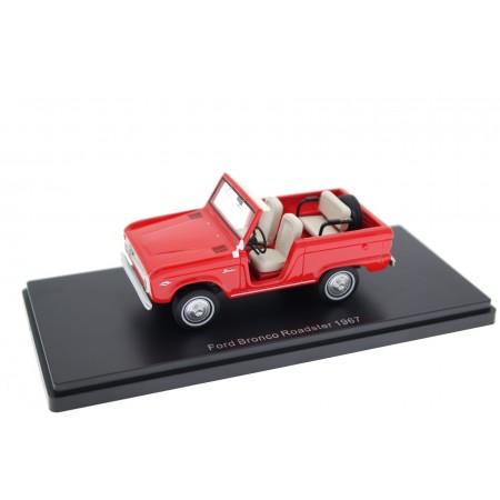Neo Scale Models Ford Bronco Roadster 289CI V8 U13 1967 - Rangoon Red