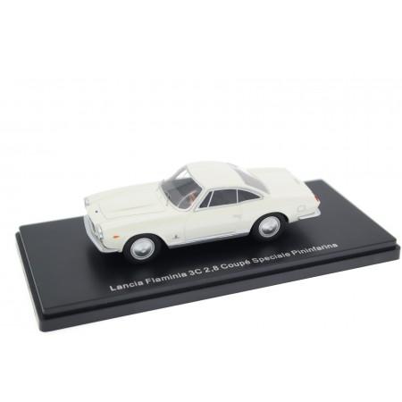 Neo Scale Models Lancia Flaminia 3C 2.8 Coupé Speciale Pininfarina 1963 - Saratoga White