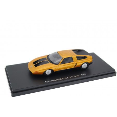 Neo Scale Models Mercedes-Benz C111-IID 1976 - Vin Gris Orange Metallic