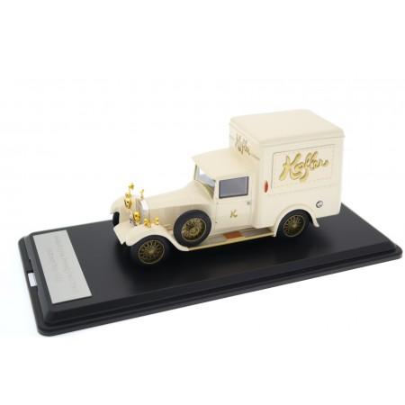 Neo Scale Models Rolls-Royce 20 HP Park Ward Kofler Delivery Van 1928 - Cream Beige
