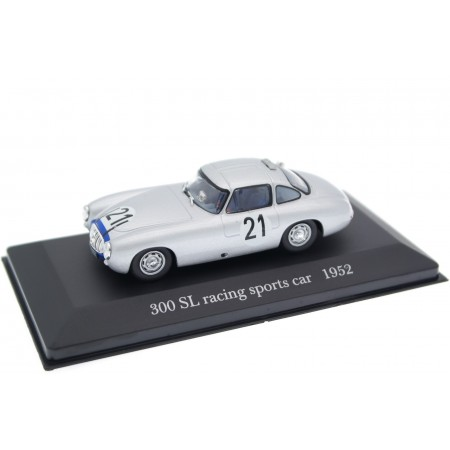 "Altaya Mercedes-Benz 300 SL W194 #21 ""Daimler-Benz A.G."" Winner 24 Hours of Le Mans 1952 - H.Lang/F.Riess"