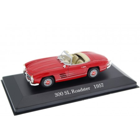 Altaya Mercedes-Benz 300 SL Roadster W198 II 1957 - Fire Engine Red