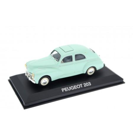 Atlas Peugeot 203 Berline 1953 - Turquoise Mint