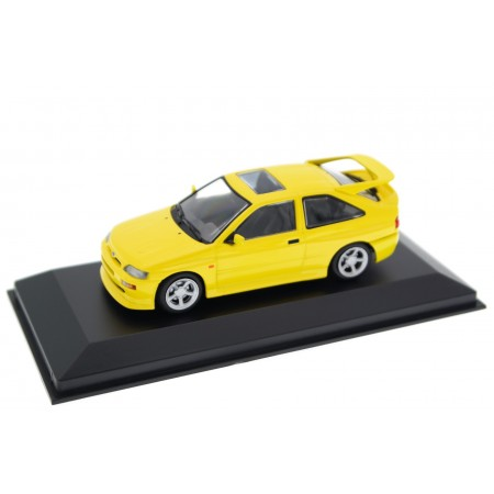 Maxichamps Ford Escort RS Cosworth Mark V 1992 - Zinc Yellow