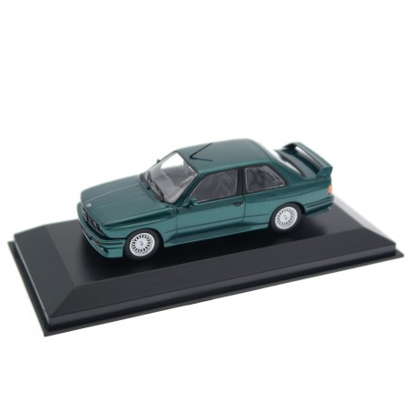 Maxichamps BMW M3 E30 1987 - Laguna Green Metallic