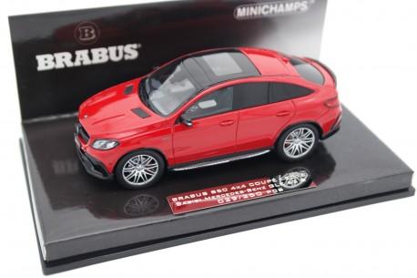 Minichamps Brabus 850 4x4 Coupé based on Mercedes-Benz GLE 63 S AMG C292 2016 - Manufaktur Jupiter Red