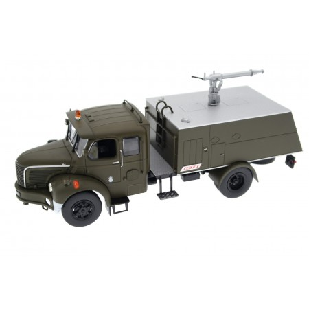 Altaya Berliet GLC 28 CN 4X4 VMA 38 Sides French Air Force 1958 - Dark Olive Green