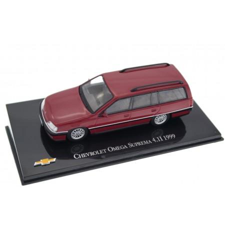 Hachette Chevrolet Omega Suprema 4.1 1996 - Medium Garnet Red