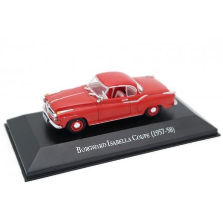 Hachette Borgward Isabella Coupé 1957 - Flamingo Red